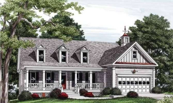 Eplans Country House Plan Captivating Cupola Square Feet