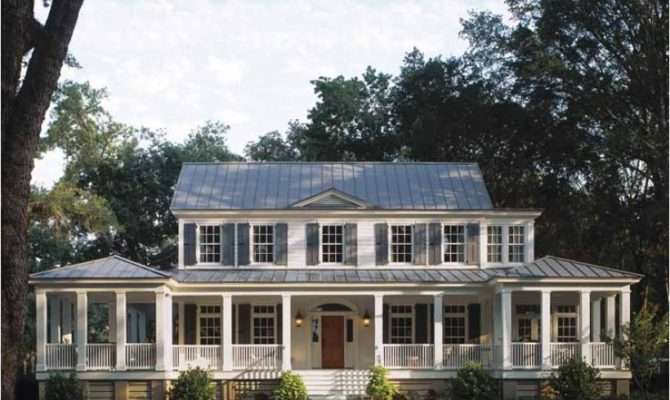 Eplans Country House Plan Carolina Island Southern