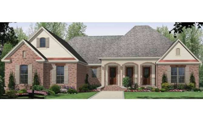 Eplans Country House Plan Oversized Great Room Screened Porch