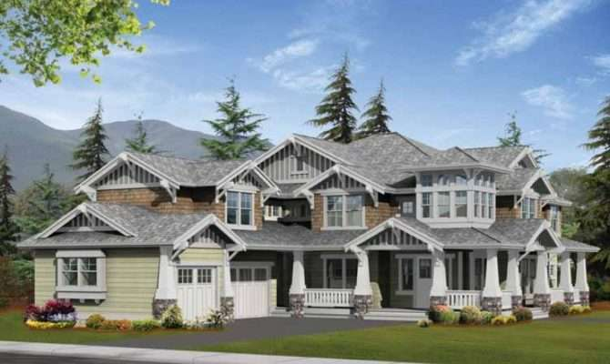 Eplans Craftsman House Plan Bold Perfect Corner Lot