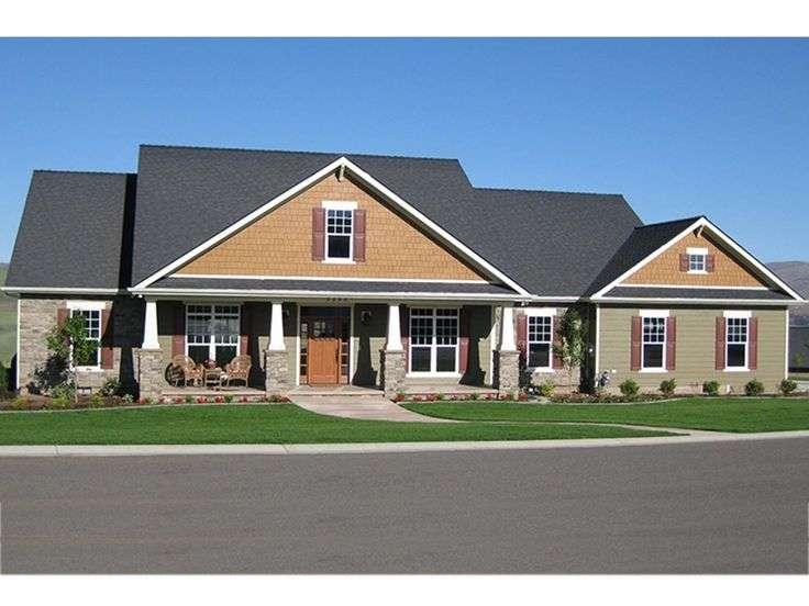 Eplans Craftsman House Plan Designed