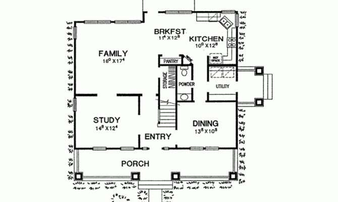Eplans Craftsman House Plan Favorite Foursquare Square Feet