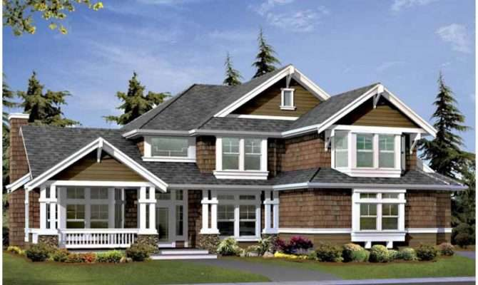 Eplans Craftsman House Plan Side Garage Perfect Corner Lot