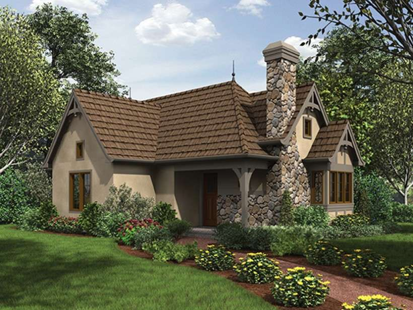 Eplans English Cottage House Plan Storybook Square