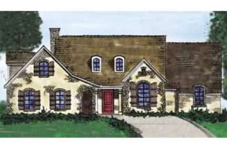 Eplans English Cottage House Plan Three Bedroom