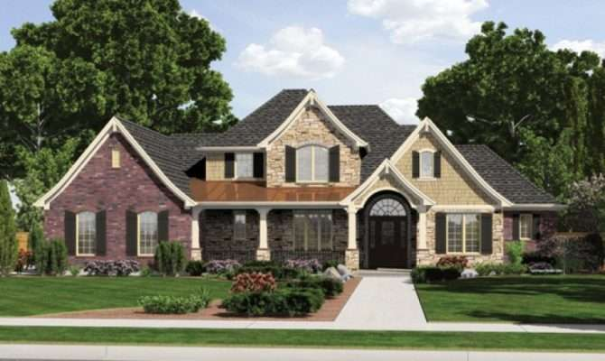 Eplans European French Country House Plan Exterior Style