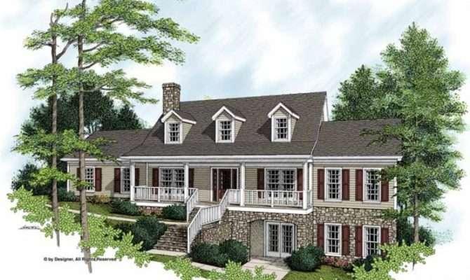 Eplans Farmhouse House Plan Attractive Square Feet