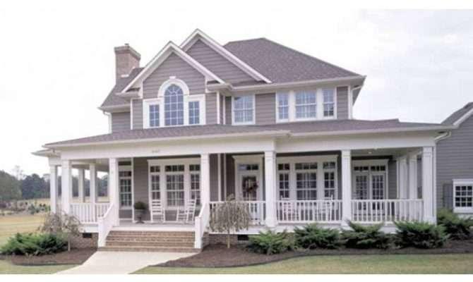 Eplans Farmhouse House Plan Country Perfection Square Feet