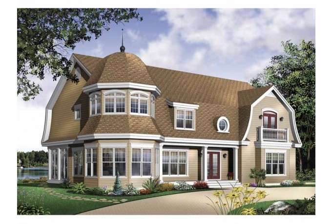 Eplans Farmhouse House Plan Four Bedroom Square