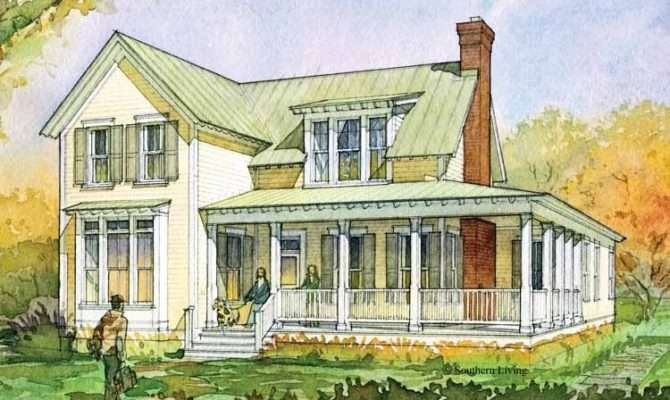 Eplans Farmhouse House Plan Glenview Cottage Southern