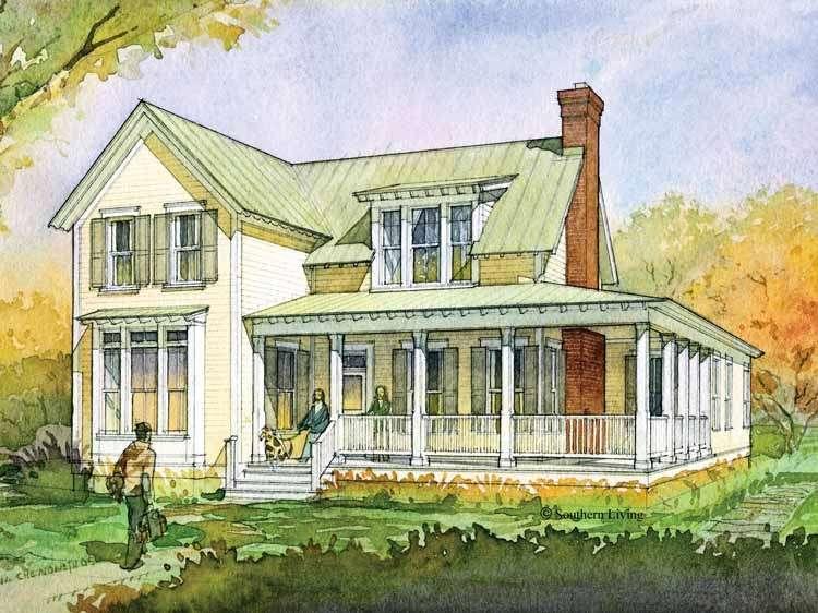 Eplans Farmhouse House Plan Glenview Cottage