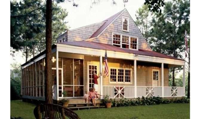 Eplans Farmhouse House Plan Nautical Cottage Southern