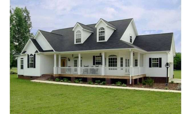 Eplans Farmhouse House Plan Style Ranch Home Square