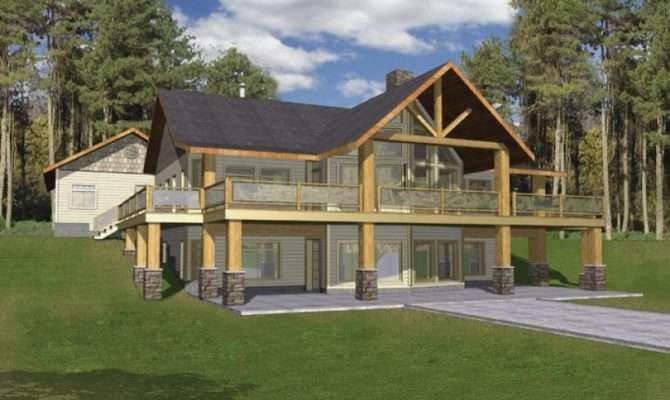 Eplans Frame House Plan Hillside Haven Two Levels