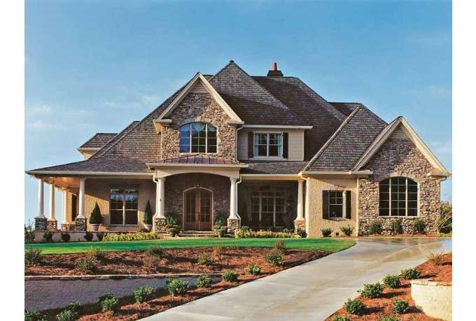 Eplans French Country House Plan Above Beyond Square Feet