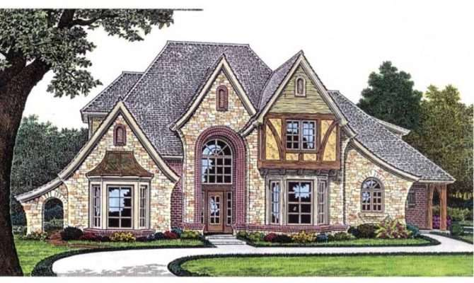 Eplans French Country House Plan Amenity Filled European Estate