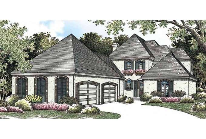 Eplans French Country House Plan Fairy Tale Appeal