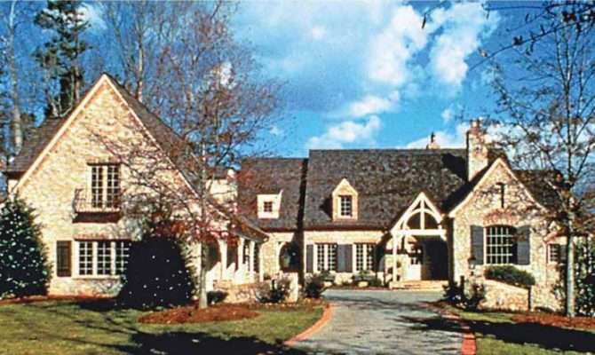 Eplans French Country House Plan Separate Pool Square