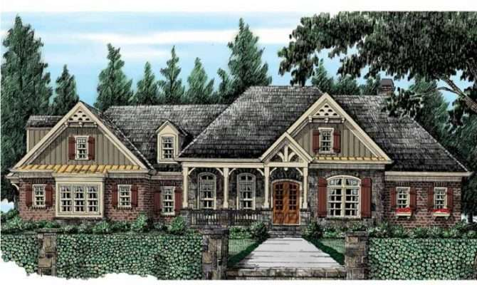 Eplans French Country House Plan Sprawling European Ranch Style