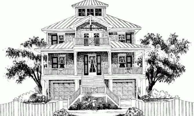 Eplans Low Country House Plan Red Bay Cottage Southern