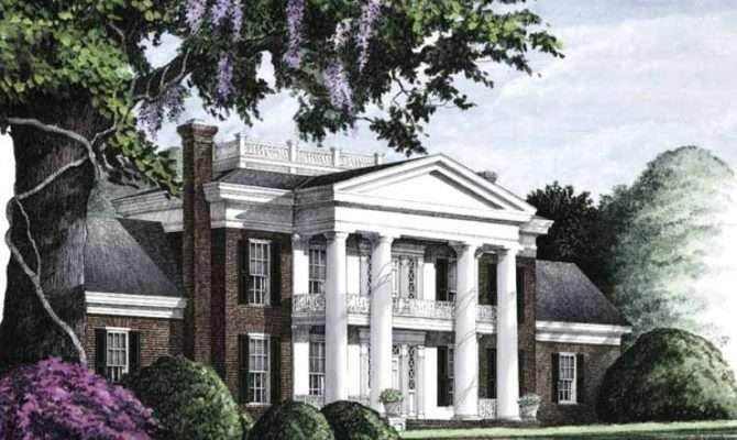 Eplans Neoclassical House Plan Savannah Square Feet