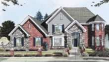 Eplans New American House Plan Brick Stone Two Story Large