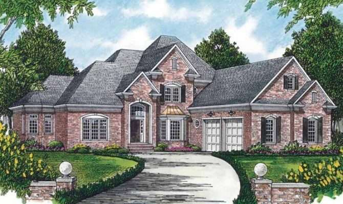 Eplans New American House Plan Perfect Corner Lot Square