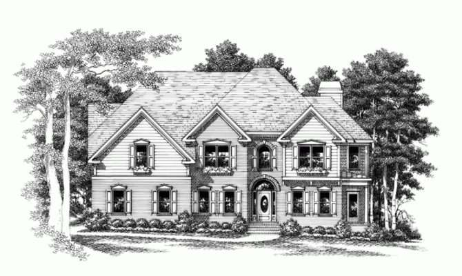 Eplans New American House Plan Perfect Corner Lot