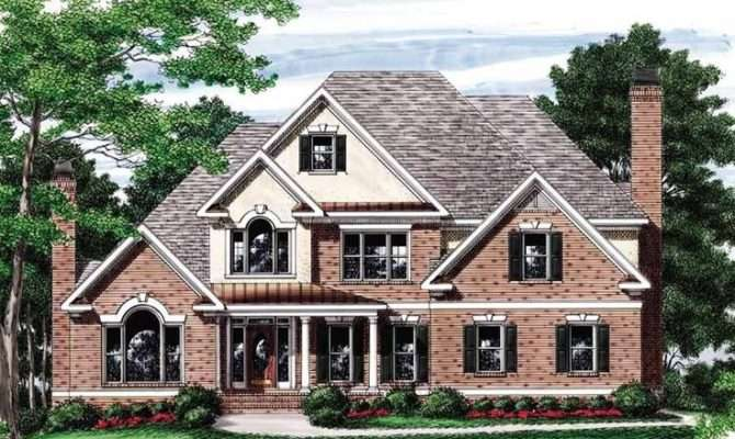 Eplans New American House Plan Striking Ceiling Treatments