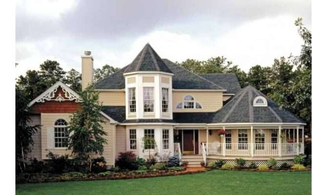 Eplans Queen Anne House Plan Victorian Country Style Never Looked