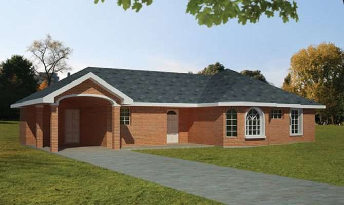 Eplans Ranch House Plan Brick Carport Square