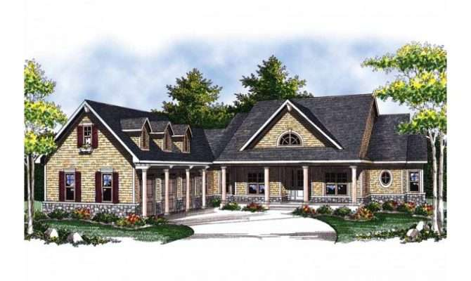Eplans Ranch House Plan Country Lots Storage Space