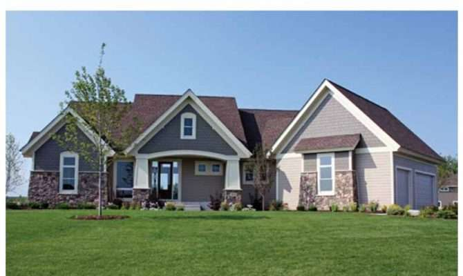 Eplans Ranch House Plan Four Bedroom Home Square Feet