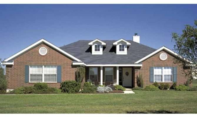 Eplans Ranch House Plan Four Bedroom Square Feet