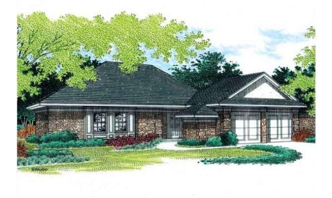 Eplans Ranch House Plan Garage Square Feet