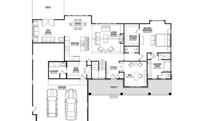 Eplans Ranch House Plan Open Finished