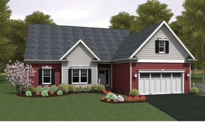 Eplans Ranch House Plan Open Floor Square Feet
