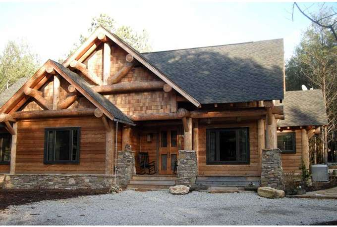 Eplans Ranch House Plan Rustic Cabin Harmony Natural