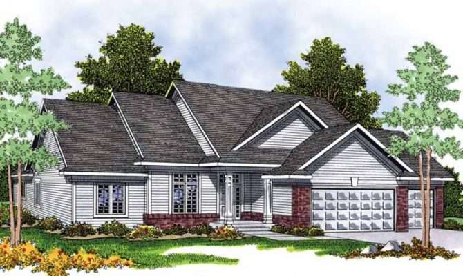 Eplans Ranch House Plan Sets New Standard Square Feet
