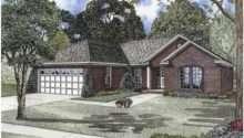 Eplans Ranch House Plan Split Bedroom Brick Square Feet