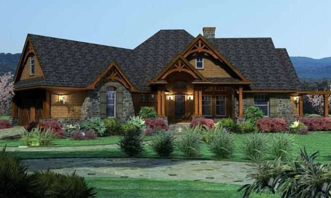 Eplans Ranch House Plan Tavern Like Features Square Feet