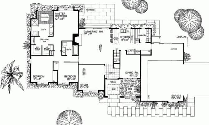 Eplans Spanish Revival House Plan Influence Square