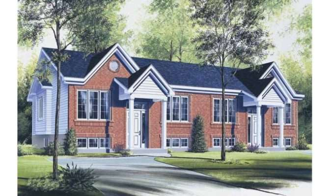 Eplans Split Level House Plan Duplex Square Feet