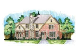 Eplans Tudor House Plan Old World Style Modern Luxuries