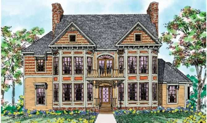 Eplans Victorian House Plan Period Square Feet