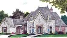 European French Country House Plan