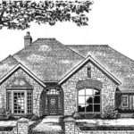 European Style House Plans Square Foot Home