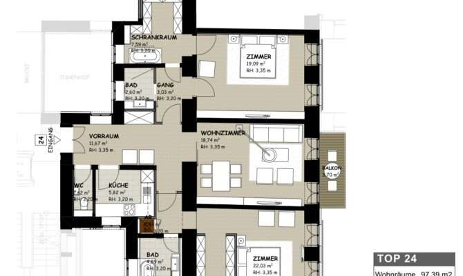 Example Floor Plan Classic Historical Viennese