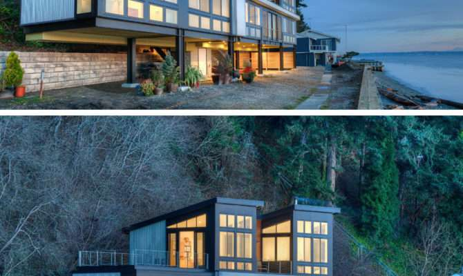 Examples Modern Beach Houses Around World