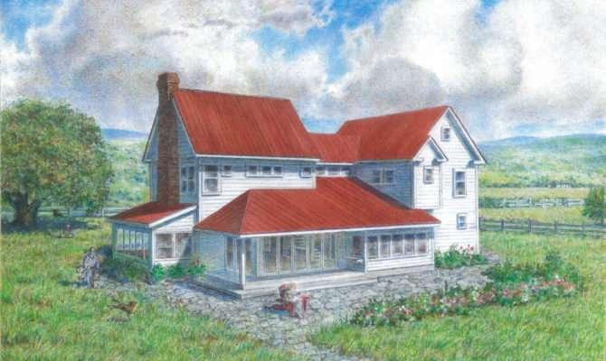Exceptional Old Farm House Plans Farmhouse Style